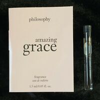 Philosophy Amazing Grace Eau De Toilette EDT Perfume Sample 1.5ml NEW!!
