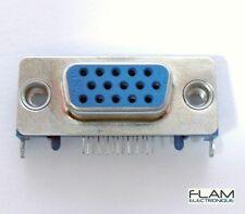 Connecteur à souder HD15 VGA femelle / Female VGA 15 pins connector to solder