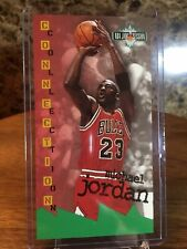 1995-96 Fleer NBA Jam Session #13 Michael Jordan Legend! I'm Not A But💎Possibly