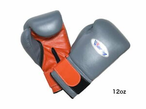 Winning Boxing gloves Tape type 12oz Gray x Orange from JAPAN FedEx tracking -A