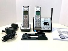 AT&T CL82209 Dual 6.0 Answering Expandable Cordless Phone System 2 Handsets