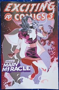 (2019) EXCITING COMICS #3 MARY MIRACLE (MARVEL) VARIANT COVER! ANTARCTIC PRESS