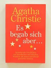 Agatha Christie Es begab sich aber Bertelsmann Verlag