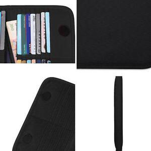 BUBM Waterproof Organizer Credit Card Holder Case 28 Card Slots Folding Bag