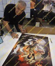 JON CARTER/DEJAH THORIS~OF MARS~LITHOGRAPH~HAND-SIGNED BY KEN KELLY~KISS ARTIST