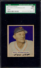 1949 Bowman 227 Fritz Ostermueller.  SGC 88 NMMT 8 high number.  (TX7270DXT).
