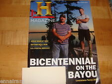 History Channel Club Magazine July Aug 1012 Sioux War of 1862, Louisiana Bayous