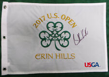 Brooks KOEPKA SIGNED AUTOGRAPH AFTAL COA US Open Winner Erin Hills Golf Flag