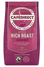 Cafedirect Fairtrade riche café torréfié et moulu 3 packs x 227g arabica, robusta