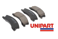 For Jeep - Grand Cherokee WJ Front Brake Pads Set 1999-2004 Unipart