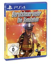 Berufsfeuerwehr die Simulation Sony Ps4 Spiel