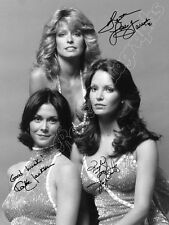 CHARLIE'S ANGELS  - print signed photo - foto con autografo stampato