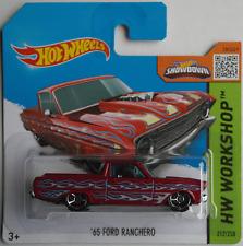 Hot Wheels - ´65 / 1965 Ford Ranchero rotmet. mit Flammen Neu/OVP