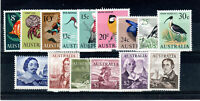 Australia 1966-73 Decimal currency values 8c to $4 MLH/MH