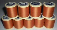 Dollfus Mieg DMC Brilliante D'Alsace Embroidery Thread 922 Dark Apricot 9 Spools