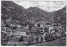 0045 BERGAMO PIAZZA BREMBANA - VALNEGRA - MOIO Cartolina FOTOGRAF viaggiata 1957
