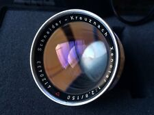 Schneider-Kreuznach Xenotar 150mm f/2.8 Large Fornat Lens Linhof Selected w/case