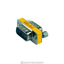 """Mini-Gender-Changer S-VGA-Adapter 15p.Stecker/Stecker"