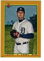 Casey Mize 2020 Bowman 1990 Bowman 5x7 Gold #90B-CM /10 Tigers