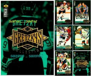 100++ UD CHOICE 1995 GRETZKY RECORD COLLECTION LOT .. U PICK FROM LIST WHOLESALE
