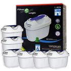 Universal 6 Pack of Water Filter Cartridges to fit Brita Aluna Jug