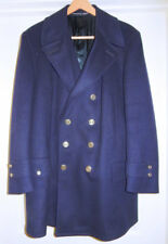 Fireman's Dress COAT HEAVY WOOL Jacket  LG XL Tall Uniform PRISTINE Firefighter
