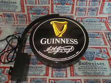NEW VTG 2016 GUINNESS IRISH PUB PRO MOTION AL BEER LED 2 SIDE PUB LIGHT BAR SIGN
