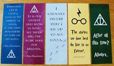 Harry Potter Bookmarks - Pack of 5 - Favors / Party Bag Fillers