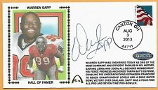 Warren Sapp Hall of Fame AUTH Autographed Gateway Stamp Envelope Postmark