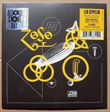 "Led Zeppelin, Rock & Roll, NEW/MINT Ltd edition YELLOW vinyl 7"" single RSD 2018"