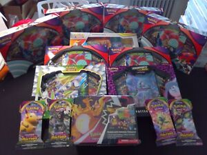 24 HOURS AUCTION- HUGE LOT OF POKEMON SEALED-NEW- (Evolutions, Champion Path +)