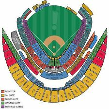 1 KC Royals vs Houston Astros Tickets 06/07/17 SECTION 421 ROW N