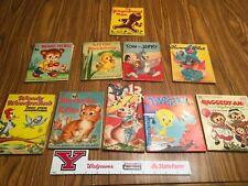 vintage lot children's books