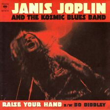 "7"" JANIS JOPLIN AND THE KOZMIC BLUES BAND raise your hand US 2011 SINGLE 45"