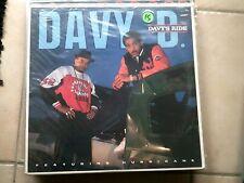 DAVY D - DAVY'S RIDE * HIP HOP LP DEF JAM