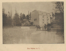 51/375 AK DIE MÜHLE IN C. gel. 1918 GOTTSCHDORF SCHWEPNITZ SACHSEN  FELDPOST