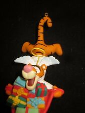 WDW Disney Grolier Tigger Collectible Christmas Ornament 009903 Gently Used