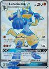 Lucario GX - SV64/SV94 - Shiny Ultra Rare Hidden Fates Singles Pokemon NM