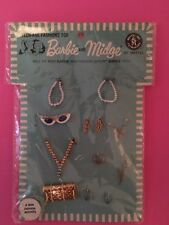 "Vintage Barbie jewellery set  "" Fashion Accents # 1830 BRAND NEW 1964  VHTF"