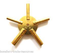 OTTONE STAR SPIDER Orologio Molla Avvolgitore AVVOLGIMENTO CHIAVI dimensioni 2,4,6,8,10 PER OFFICINA