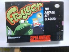 Frogger (Super Nintendo Entertainment System, 1998) SNES Box Only