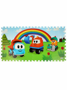 Children's Play Mat with cartoon character Leo the Truck Грузовичок Лева Toy