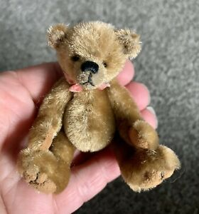 """ARTIST 3"""" Sculpted Muzzle  TEDDY BEAR Fully Jointed No Tags SO CUTE Buy Now NR"""