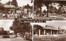Childrens Orphan Homes of Scotland Bridge of Weir Nr Johnstone Paisley RP pc1938