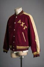 Vtg 40'S Axp Letterman Jacket Size 42 Reversible
