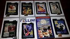 8 DVD FEDERICO FELLINI FIMOGRAFIA VENDO ANCHE SINGOLARMENTE LOTTO STOCK SIGILLAT
