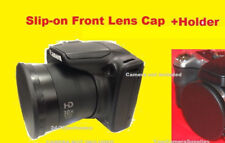 FRONT SLIP-ON LENS CAP TO CAMERA CANON S2IS S3IS POWERSHOT S2 S3 IS+HOLDER