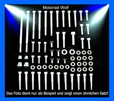 Motorschraubensatz Suzuki VL 1500 Intruder V2A Edelstahl Schrauben Motor Set NEU