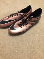 Nike Hypervenom Phade II Soccer Cleats 749889-903 Bronze Black Mens 13