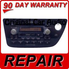REPAIR 02 03 04 05 06 Acura RSX Radio 6 Disc CD Changer Fix Player 1TJ3 1TJ2 OEM